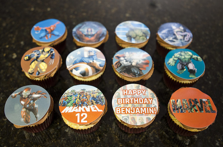 Cupcakes Marvel (1)