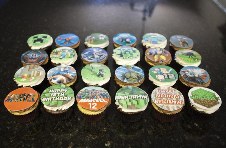 Cupcakes Mixed Themes (1)