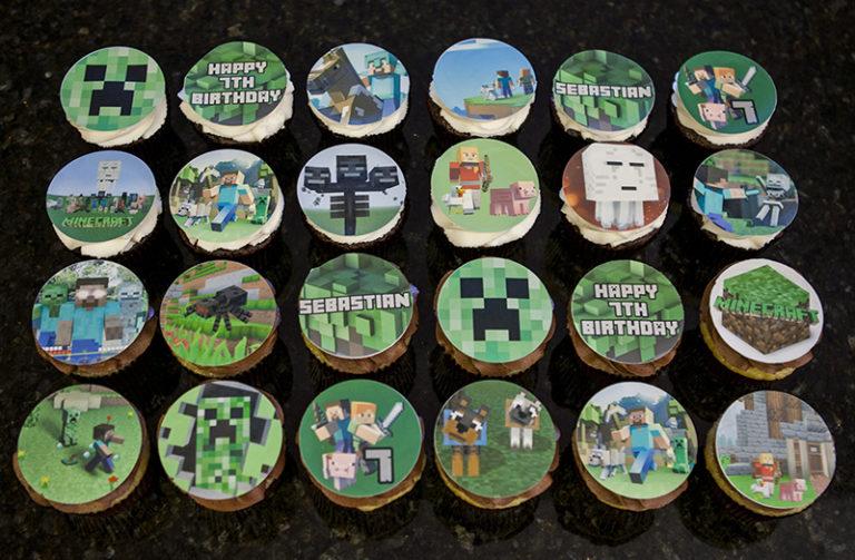 Cupcakes Minecraft (2)