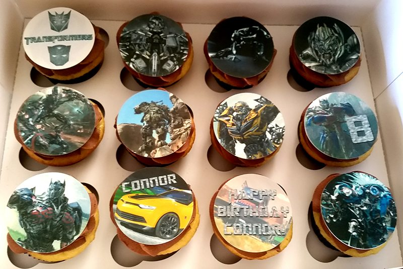 Cupcakes Transformers (1)